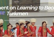 Photo of Presentation of a book: Victoria Clement on Learning to Become Turkmen